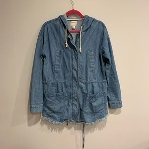 Forever 21 Chambray Anorak